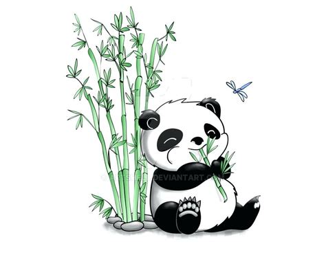 Panda Drawing | Free download on ClipArtMag