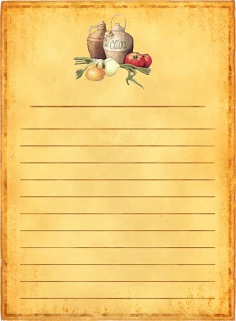 318 best Recipe Scrapbooking-Printables and blank recipe