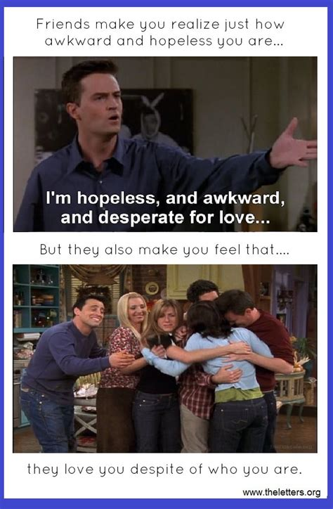 SHORT FUNNY FRIENDS TV SHOW QUOTES image quotes at