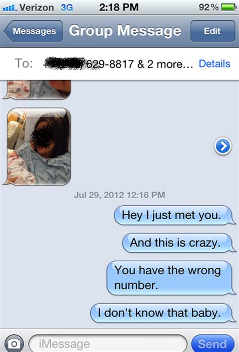 The 20 best responses to a wrong number text | REALITYPOD
