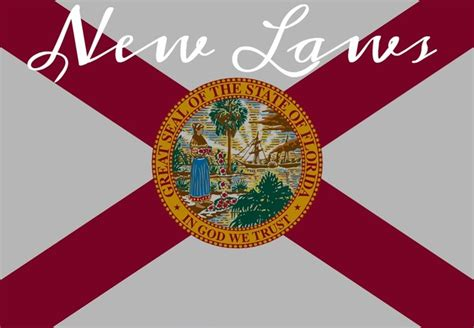 New laws that go into effect on July 1 in Florida