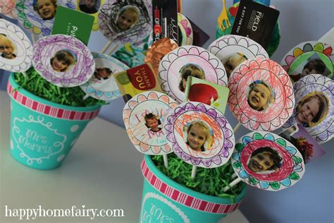 Gift Card Bouquet for the Teacher - Happy Home Fairy