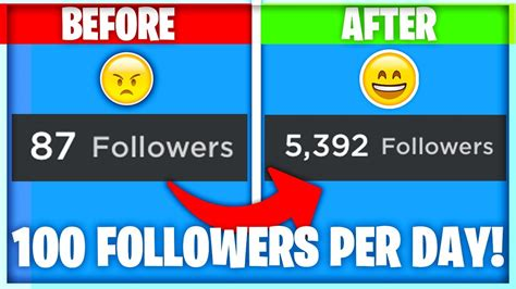 How to get FAST followers on Roblox! (100+ per day with
