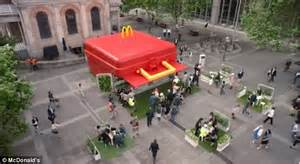 McDonald's unveils world's largest lunch box to tempt