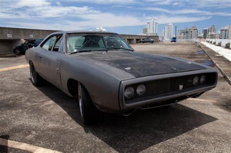 Flat black Dodge Chargers from the movies