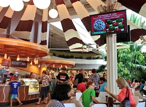 Hershey's Chocolate World: A more richly themed