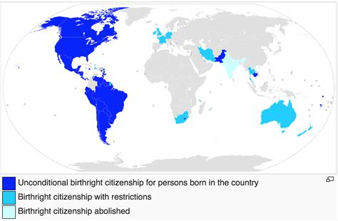 Countries that practice Jus Soli (Birthright citizenship