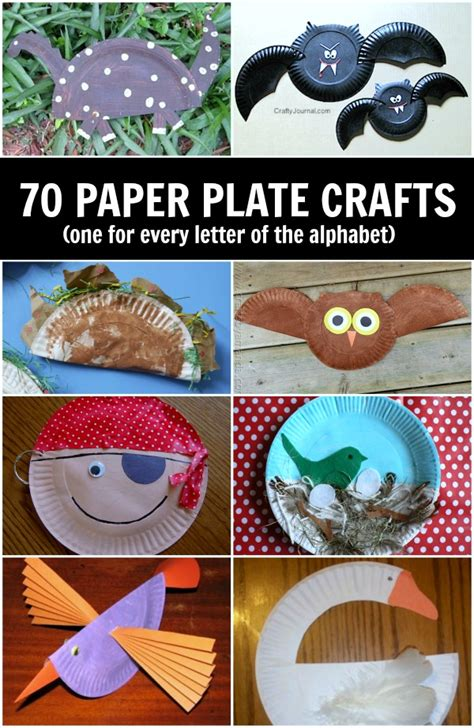Paper plate crafts for kids (A-Z) - C