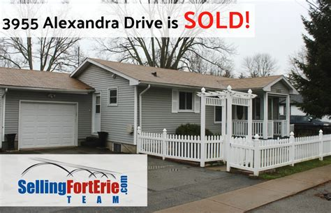 3955 Alexandra Drive in Crystal Beach is SOLD! - Fort Erie