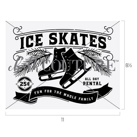 Ice Skate Rental - Chalk Couture