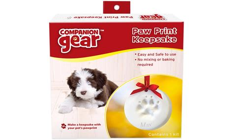 Up To 68% Off on Paw Print Ornament   Groupon Goods