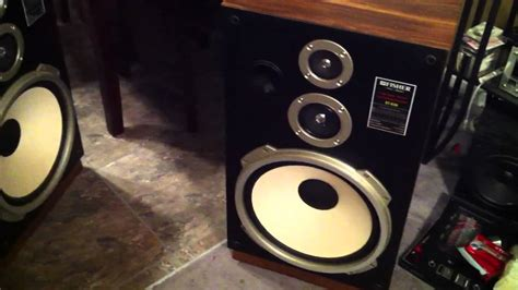 """Fisher ST-830 15"""" speakers - YouTube"""