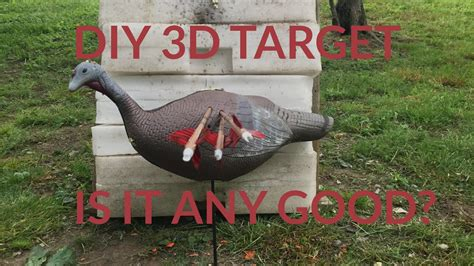 Easy to Build 3D Turkey Target - YouTube