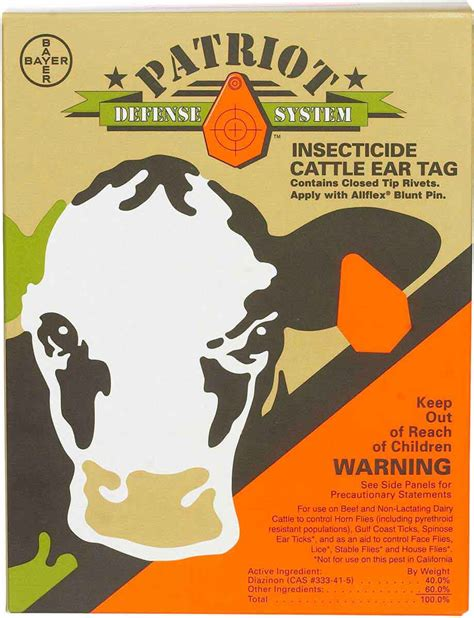 Patriot Bayer ( - Fly Lice Control - Cattle Fly Lice - Fly