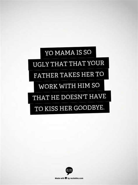The Greatest 'Yo Mama' Jokes In The History Of The