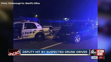 Deputy recovers from shoulder injury after drunk driver