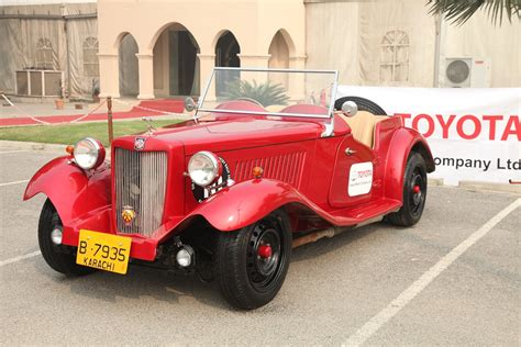 Former car of Ayub Khan along with 70 other vintage cars