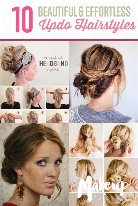 10 Hairstyle Tutorials For Your Next GNO