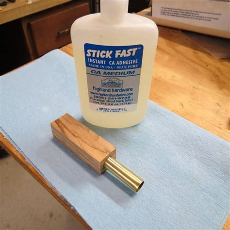 I use CA MEDIUM adhesive for gluing the tubes into the