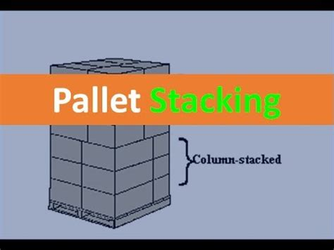 Pallet Stacking - YouTube