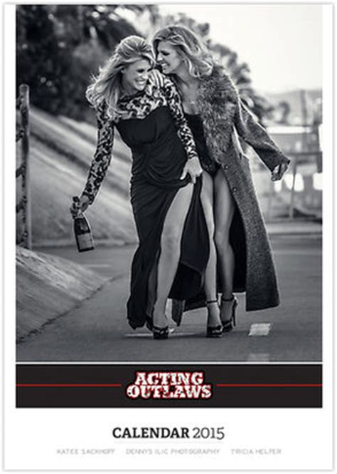 Tricia Helfer / Katee Sackhoff - Acting Outlaws 2015