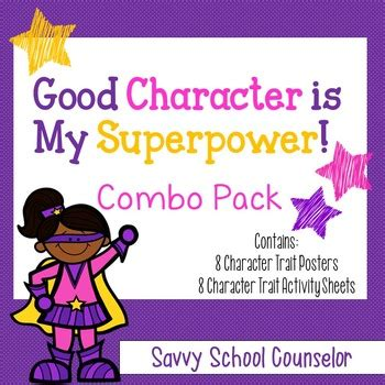 Superpower Character Trait COMBO Pack- Savvy School