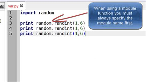 random numbers in python - YouTube