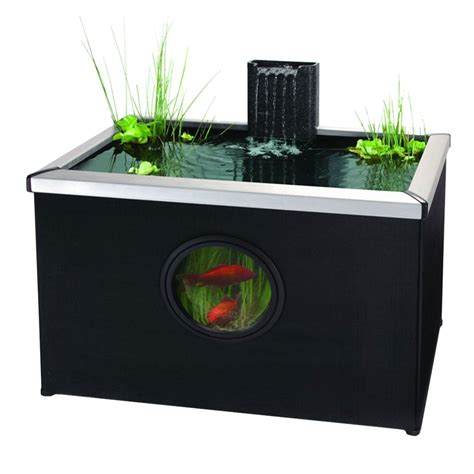 Blagdon Affinity Pool Rectangle - Black - Pond from Pond