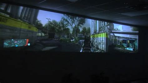 GeForce GTX 590 Triple Projector Ultimate Panoramic 3D