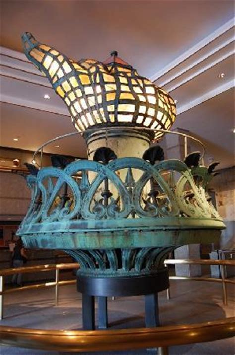 Celebrity gossips and images: inside statue of liberty torch