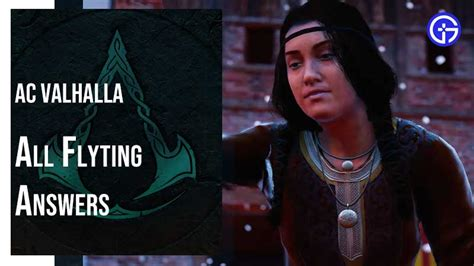 Assassin's Creed Valhalla All Flyting Answers Guide