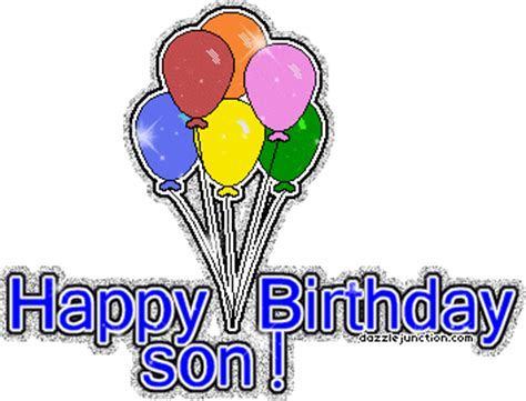 Wishes happy birthday to my son