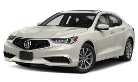 White 2019 Acura TLX with Technology Package on
