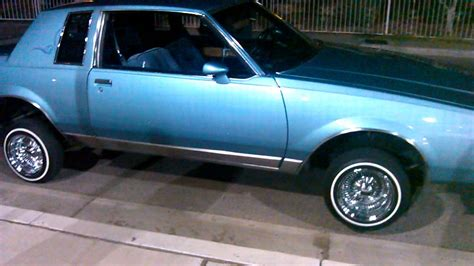 My dads 86 Buick regal limited lowrider part2 - YouTube