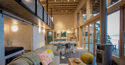 Orcas Island Cabin by Johnston Architects
