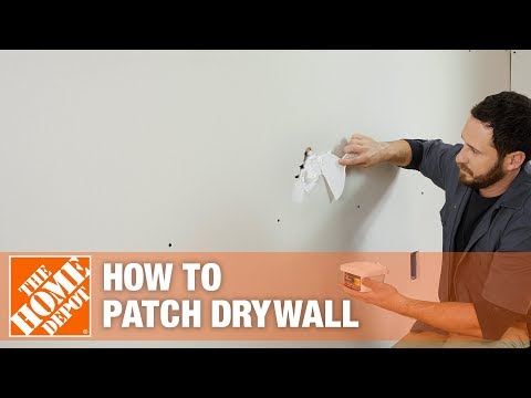 How to mix your own filler when patching or filling holes