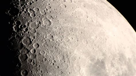 Moon (first quarter) with Celestron NexStar 6SE and