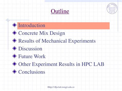 PPT - Experiments on Mechanical Properties of Self