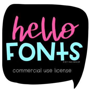 Commercial Font License: All Hello Fonts for One User