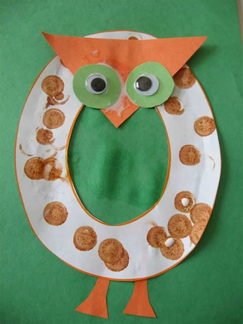 26 Adorable Letter Crafts - One For Each Letter Of The