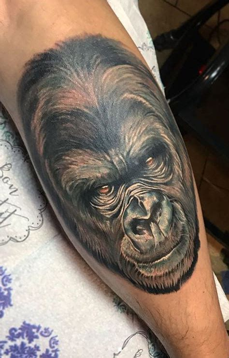 100 Unique Gorilla Tattoos You'll Need to See - Tattoo Me Now