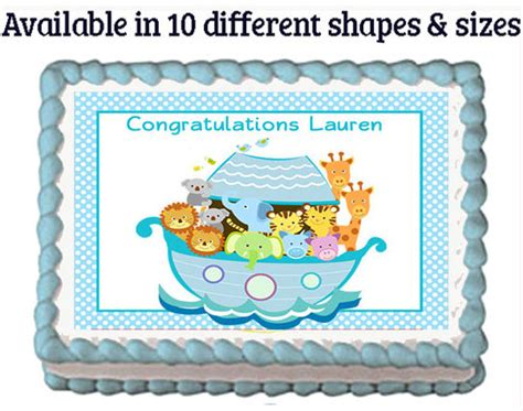 Noah's Ark Baby Shower Decorations and Party Favors - Baby