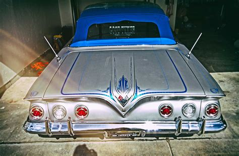 1961 Chevrolet Impala Convertible - Aces Low - Lowrider